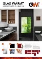zum Angebot Infrarotheizung Infrarot 450 Watt Metall-Premium Weiss Glaswärmt Heizung