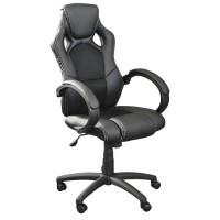 zum Angebot Bürostuhl Terena Premium Sportsitz Chefsessel Racer schwarz