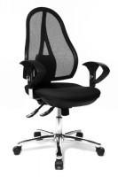 zum Angebot Bürostuhl Topstar OP290UG20 Syncro-Bandscheiben-Drehstuhl Open Point SY Deluxe inklusive Armlehnen