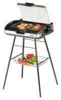 zum Angebot Elektrogill Cloer 6720 Barbecue-Grill mit Standfuss und Glasplatte