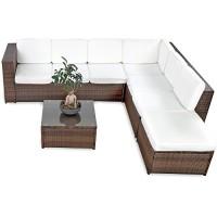 zum Angebot Gartenlounge XINRO 19tlg XXXL Polyrattan Gartenmöbel Lounge handgeflochten