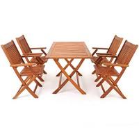 zum Angebot Gartenmöbel-Set 5tlg Sitzgarnitur SYDNEY Akazienholz