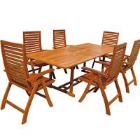zum Angebot Gartenmöbel-Set Eukalyptus Sitzgruppe Unikko