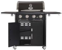 zum Angebot Gasgrill Outdoorchef CANBERRA 4G schwarz BBQ Grillstation 4 Brenner