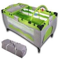 zum Angebot Reisebett infantastic krb01grün für Kinder Babyreisebett