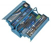 zum Angebot Werkzeugkoffer bestückt Heyco/Heytec Montage-Werkzeugkasten Stahlblech 96-teilig