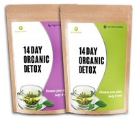 Tarjota Detox-teetä Ravintoaine Wise Grüner Parhaat orgaaniset ravintolisät