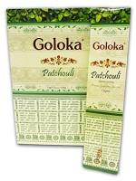 tarjota suitsuketikkuja Goloka Original Indian Patchouli