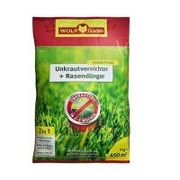 zum Angebot Rasenunkraut-Vernichter WOLF-Garten Unkrautvernichter Rasendünger SQ 450