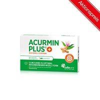 tarjoukseen Kurkumakapselit AcurminPLUS Micellar Curcuma Curcumin, maksimaalinen hyötyosuus