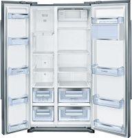 zum Angebot Side-by-Side Kühlschrank Bosch KAN90VI30 Serie 4 -kühlschrank amerikanisch mit LED Beleuchtung