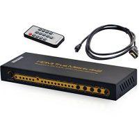 zum Angebot HDMI Switch Leicke KanaaN 4K UltraHD HDMI 4×2 Matrix Switch