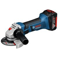zum Angebot Akku-Winkelschleifer Bosch Professional GWS 18-125 V-LI -125 mm Scheiben-Ø, 2 x 4,0 Ah 18 V Akku