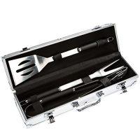 zum Angebot Grillbesteck Bruzzzler Edelstahl Set 3-teilig im Koffer