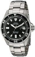 zum Angebot Taucheruhr DETOMASO Herren-Armbanduhr Oceanmaster Prof. Black Analog Automatik