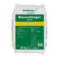zum Angebot Rasendünger 25 kg Premium mit Sofortwirkung 900m² Beckmann Profi Rasen Dünger