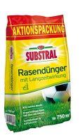 zum Angebot Rasendünger Substral Rasen-Dünger mit Langzeitwirkung – Qualitätsrasendünger