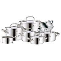 zum Angebot Topfset Induktion WMF Topf-Set 7-teilig Gourmet Plus Innenskalierung Dampföffnung