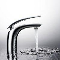 zum Angebot Waschtischarmatur Homelody Chrom Mischbatterie Wasserhahn Bad Armatur