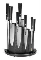 zum Angebot Messerblock bestück Böker Messer Damast Black Set