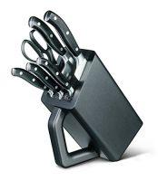 zum Angebot Messerblock bestück Victorinox 7.7243.6 Kochmesser-Block 6-teilig, mit Nylon Einlage
