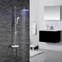 zum Angebot Duschsystem Homelody Thermostat Duscharmatur Dusche Eckig Duschpaneel