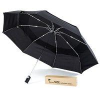 zum Angebot Taschenschirm Extra-großer kompakter Regenschirm von TeamSoda KeepDry: großes Schirmdach