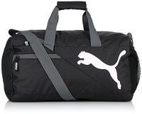zum Angebot Sporttasche PUMA Fundamentals Sports Bag S, black, 22.3 x 12.4 x 25 cm, 29 liter