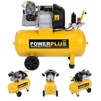 zum Angebot Druckluftkompressor 2.200 Watt, 3 PS, 50 Liter Tank