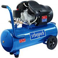 zum Angebot Druckluftkompressor Scheppach Kompressor HC53DC | + Tank 50l