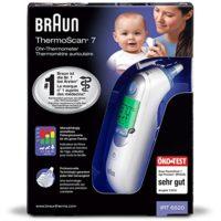 zum Angebot Fieberthermometer Braun ThermoScan 7 Infrarot Ohrthermometer