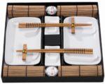 zum Angebot Sushi Set Tischgeschirr JapanSushi Service braun f. 2 Personen