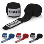 zum Angebot Boxbandagen Elastisch in 4m Länge von Moncada Fighting (Schwarz)
