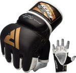 zum Angebot MMA Handschuhe RDX Rindsleder Grappling UFC Sparring