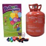 zum Angebot Heliumflasche Ballon Helium für Luftballons, Gasflasche mit 30Luftballons