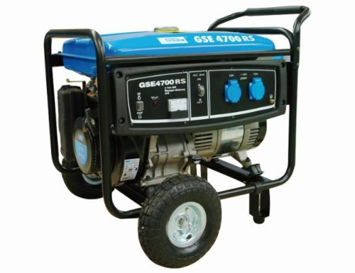 Stromerzeuger Güde 40631 Stromgenerator GSE 4700, 3500/4000 Watt