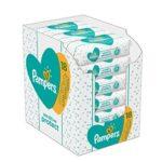 zum Angebot Baby Feuchttücher Pampers Sensitive Protect