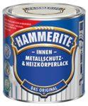 Heizkörperlack 0,5L Hammerite Metallschutzlack innen cremeweiss matt