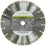 zum Angebot Diamanttrennscheibe Rendech 230 mm mit 10 mm Segmenthöhe, Diamantscheibe 230 mm