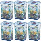 zum Angebot Vorratsdose ISI Lock & Lock Set 6-teilig je 1,3 Liter Frischhaltedosen
