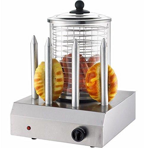 Hot Dog Maker Syntrox Edelstahl Profi Gastro Gerät