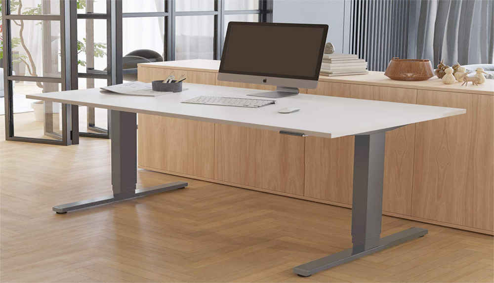 Fortschrittliche All-in-One-Tastatur - Mit drei programmierbaren Voreinstellungen können Sie drei gewünschte Höhen abspeichern. Das Sitz-/Steh- Zeit-Erinnerungs-System hilft auch Sie bei Ihrer Arbeitszeit. 5 Jahre Gewährleistung für Tischgestell und 3 Jahre Gewährleistung für Motor Passen für Tischplatte von 120 cm bis zu 200 cm in der Breite, und 60 cm bis 80cm in der Tiefe, maximale Belastung: 125 KG.