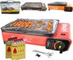 zum Angebot Camping Gasgrill RSonic Tragbar Barbecue Tischgrill