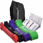 zum Angebot Fitnessband Bramble 4 Pack, Klimmzug-Band, Widerstandsbänder – Latex