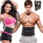 zum Angebot Blackrox Waist Trimmer Fitnessgürtel Damen & Herren,Schwitzgürtel