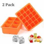 zum Angebot Eiswürfelform Wanap 2 Stück silikon Eiswürfelbehälter