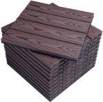 zum Angebot WPC Terrassendiele WOLTU Holzoptik klicksystem (11 Stück / 1 m²)