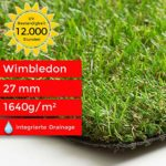zum Angebot Kunstrasen Steffensmeier, wasserdurchlässig, UV-Garantie, 133×50 cm