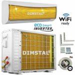 zum Angebot Split Klimaanlage DIMSTAL Klimagerät mit Wärmepumpe