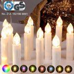 zum Angebot Christbaumkerzen Kabellos CCLIFE LED RGB Fernbedienung Timer